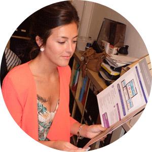 Equipe Visibilite Paris - Agence communication Paris : Marion